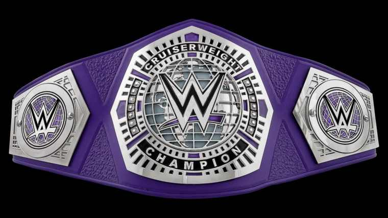 The cruiserweight title should travel to all brands