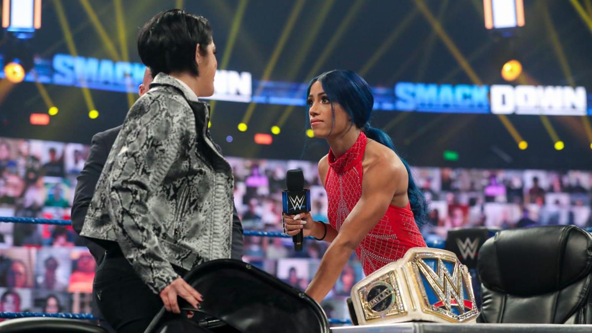 Three opponents for Sonya Deville