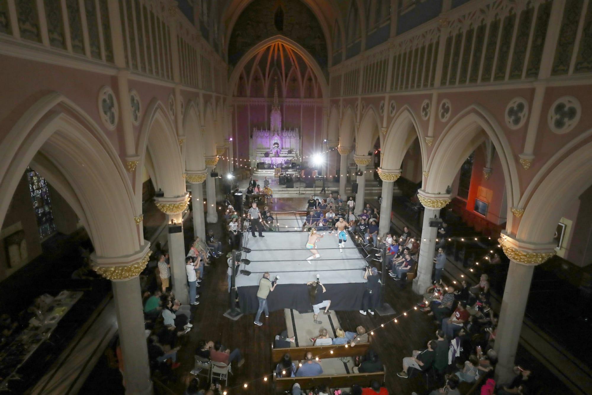 Dark Sheik on industry progress, The Church of Wrestling, EFFY's BGB, and more