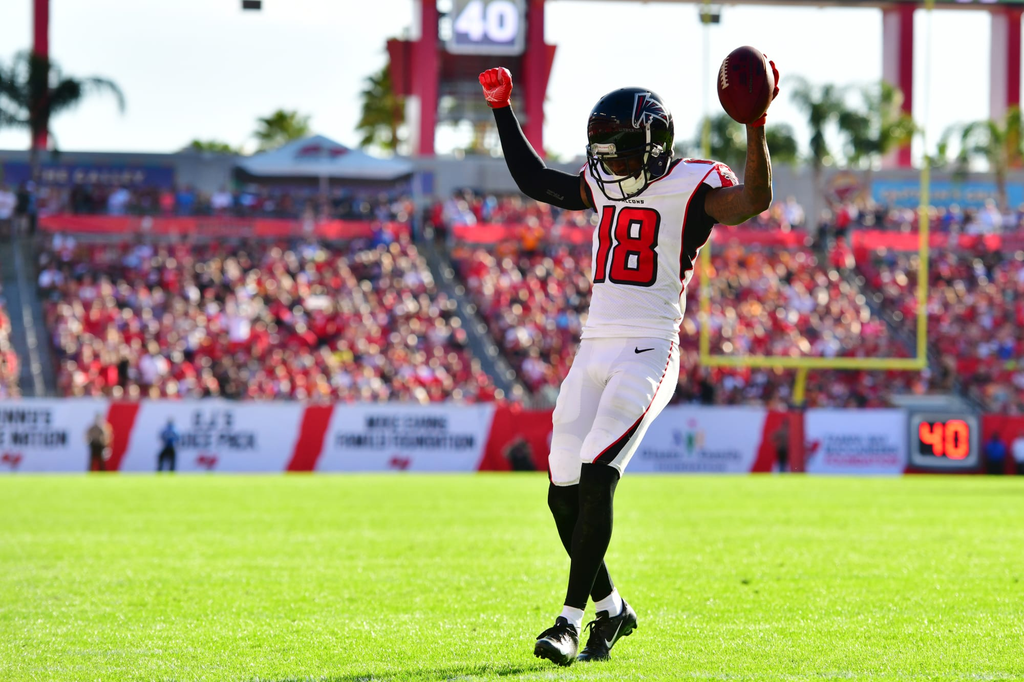 Photo of All aboard the Calvin Ridley hype train in fantasy