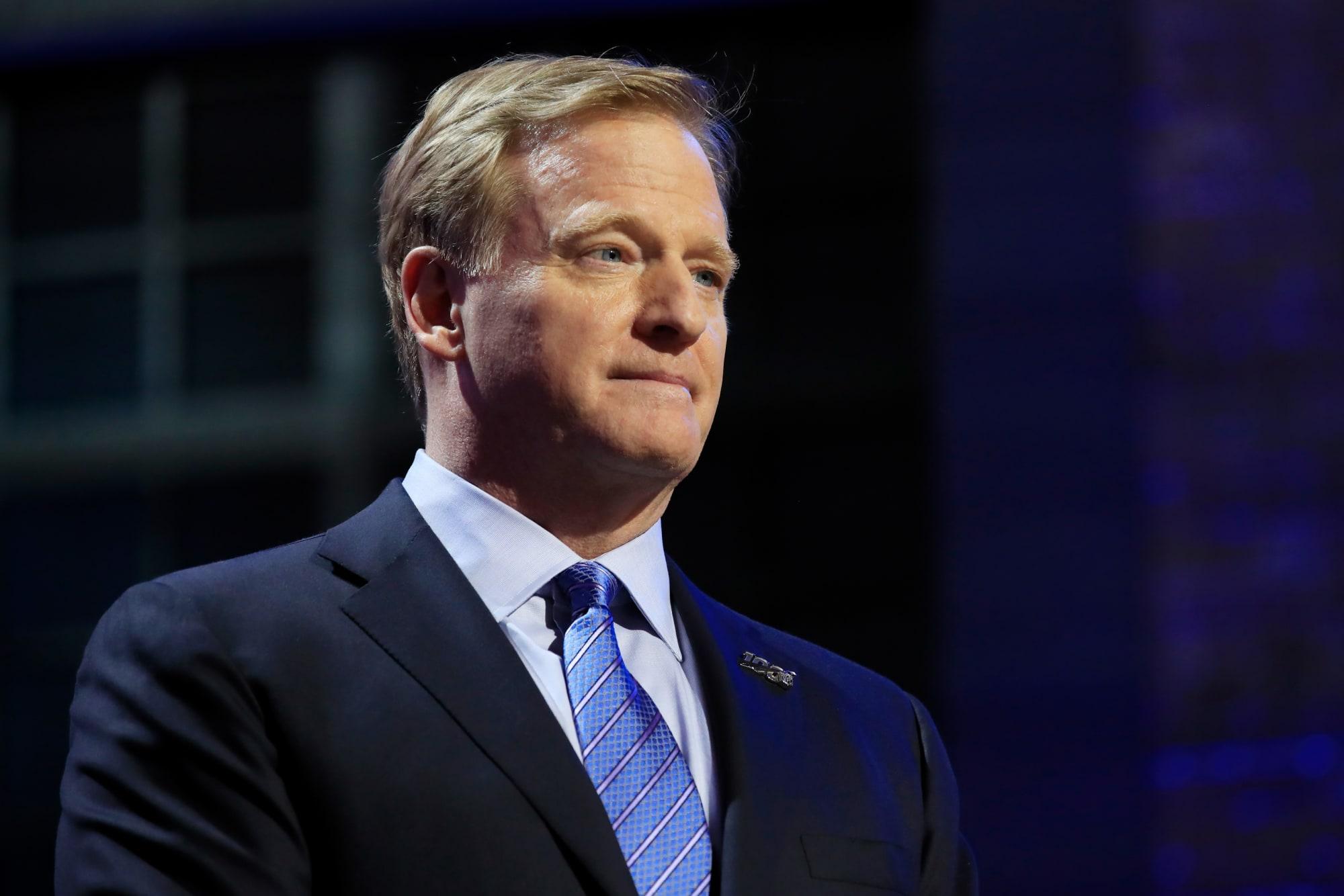 Photo of NFL Commissioner Roger Goodell: NFL Believes Black Lives Matter