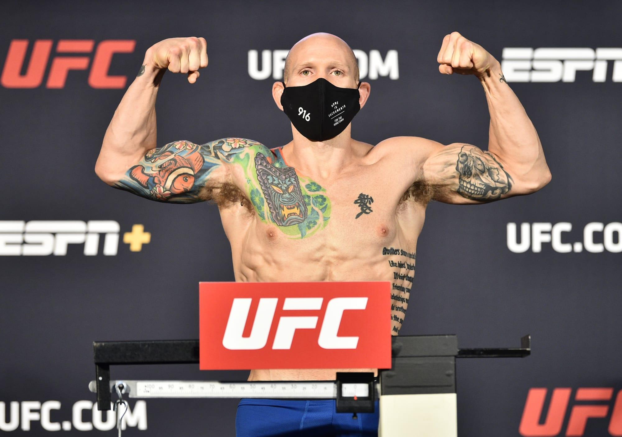 Photo of UFC Vegas 3: Josh Emmett bests Shane Burgos in entertaining slugfest