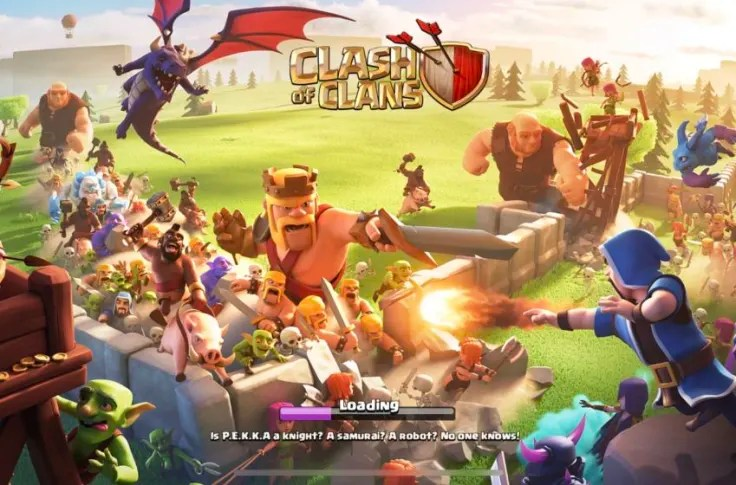 Clash Of Clans Rock Out With Party King For The 8th Clashiversary
