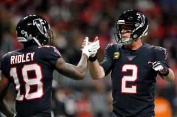 Calvin Ridley is transforming into an elite receiver for the Atlanta Falcons