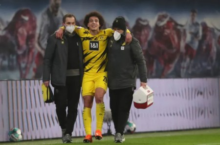 Axel Witsel Out For Several Months With Torn Achilles Tendon