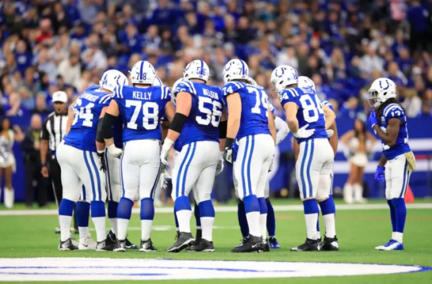 Colts offensive line most improved unit in NFL