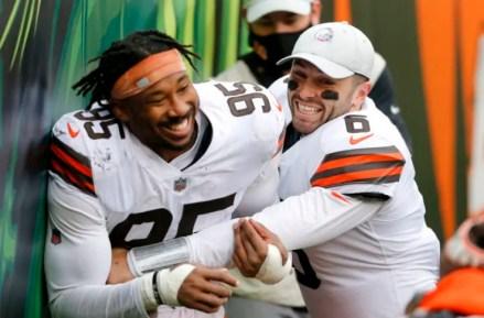 Baker Mayfield renews faith in shootout Browns win