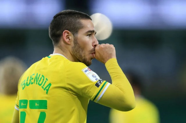 Emi Buendia of Norwich City (Photo by Stephen Pond/Getty Images)