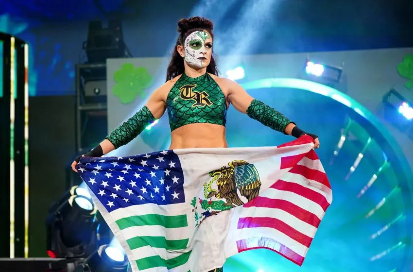 Thunder Rosa signing with All Elite Wrestling made official