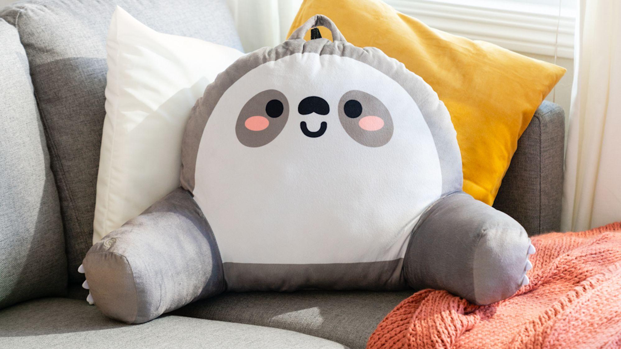 vibrating sloth pillow mental floss