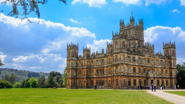 Highclere Castle-the Real-Life Downton Abbey-Is Available to Rent on Airbnb
