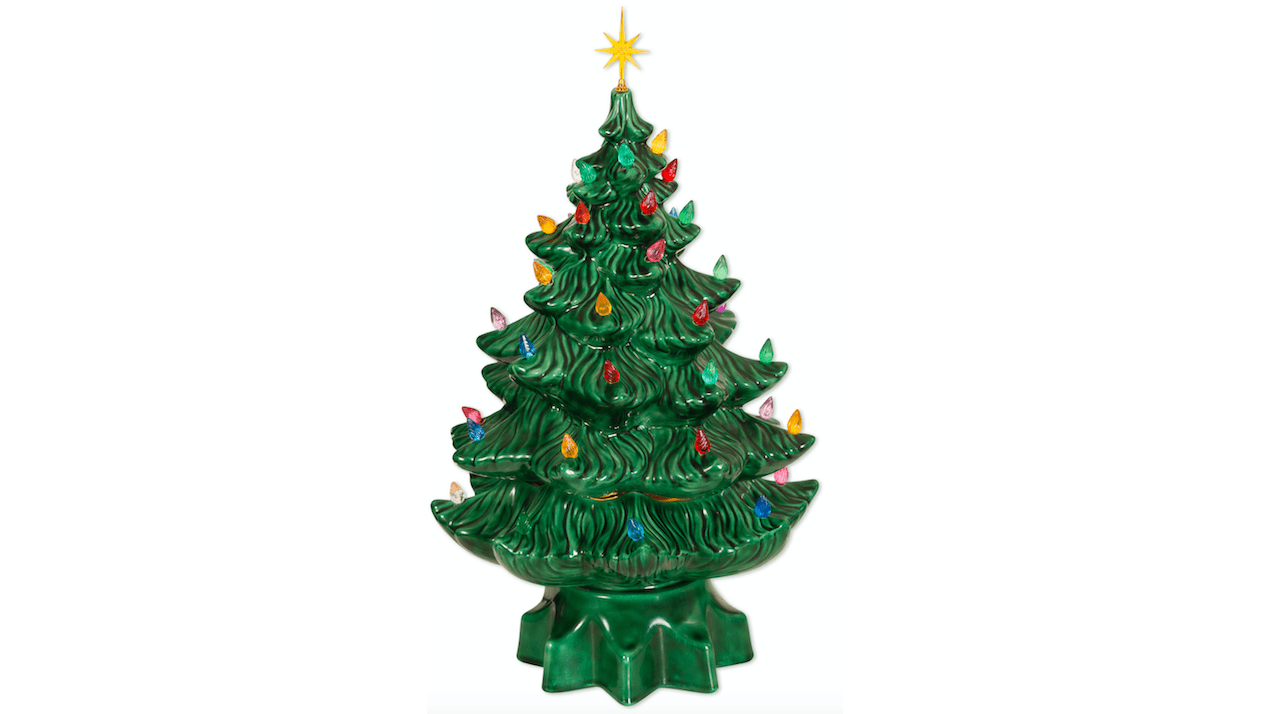 Those old ceramic christmas trees your attic are worth, how much quiz worth