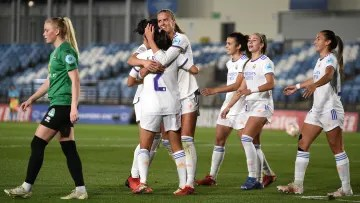Real Madrid were big winners on matchday 2 of the Women's Champions League