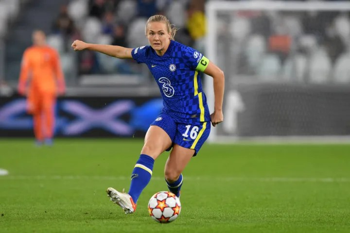 Magdalena Eriksson led by example at the back