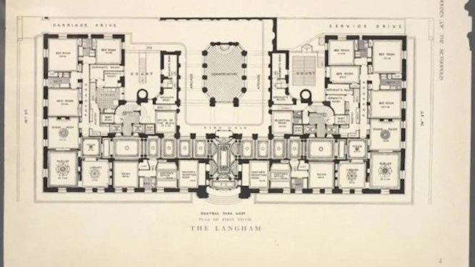 10 Elaborate Floor Plans From Pre World War I New York City