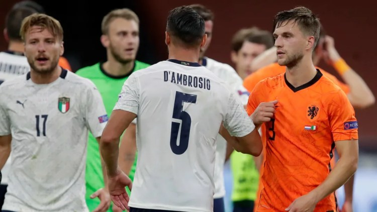 UEFA Nations League Gameweek 2 Day 2 Roundup - Italy Overcome Netherlands;  Poland Edge Past Bosnia