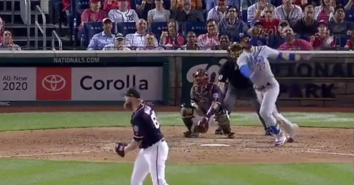 Home Runs 2020.Video Watch All Three Of Kris Bryant S Home Runs Against