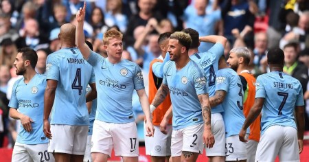 Man City 6-0 Watford: Report, Ratings & Reaction As Rampant Citizens Win  Domestic Treble | 90min