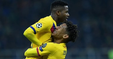 Ernesto Valverde Calls Ansu Fati 'Born Goalscorer' After He Becomes Youngest Star Ever to Net in UCL