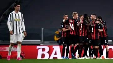 El AC Milan terminó dos posiciones y un punto por delante de la Juventus en la Serie A de la temporada pasada.