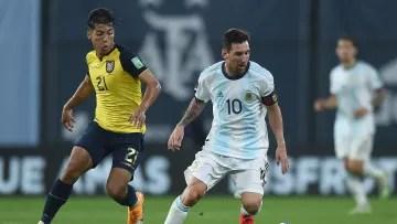 Ecuador will play Argentina