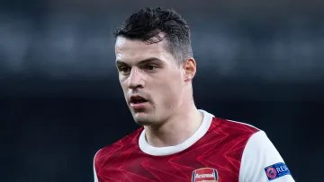 Xhaka is set to sign for AS Roma