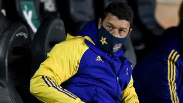 Sebastián Battaglia was already on the Boca bench to supplant Russo when he was stranded in Brazil.
