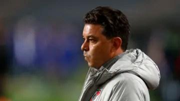 Boca Juniors v River Plate - Argentina Cup 2021. - Gallardo watches carefully.