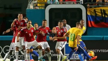 Brazil v Colombia - Neymar will look to convert again against the Colombians.