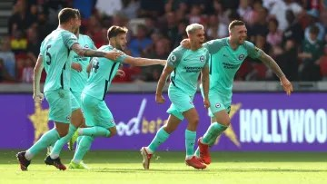 Brighton snatched a late winner