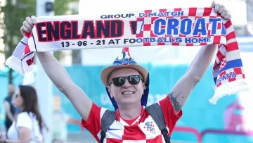 England and Croatia meet in their first match corresponding to group D