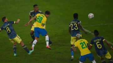 Controversial goal by Firmino in the Copa América