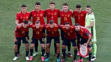 Spanish selection