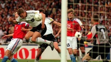 The exact moment the Czechs' dream ended.
