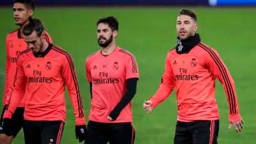 Sergio Ramos, Isco, Bale and Varane