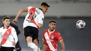 River Plate v Argentinos Juniors - CONMEBOL Libertadores Cup 2021 - Romero's great debut in River.