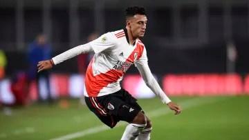 River Plate v Union - Professional League Tournament 2021 - Matías Suárez, one of the best players River has.