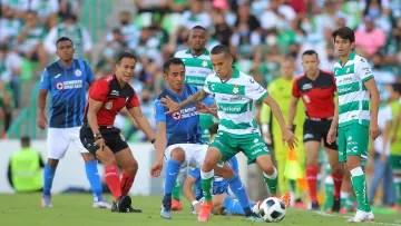 Santos Laguna v Cruz Azul - Tournament Grita Mexico A21 Liga MX
