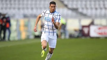 Achraf Hakimi could be on his way out of Inter this summe