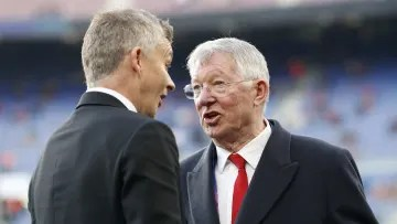 Ferguson is not pleased with Ole