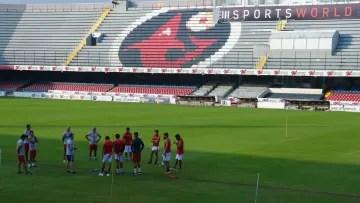 Veracruz Training Session