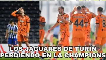 Juventus was surprised by Porto and there were people who took the opportunity to make fun of their orange uniform.