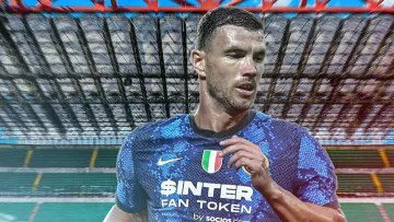 Edin Dzeko is very close to reaching Inter Milan