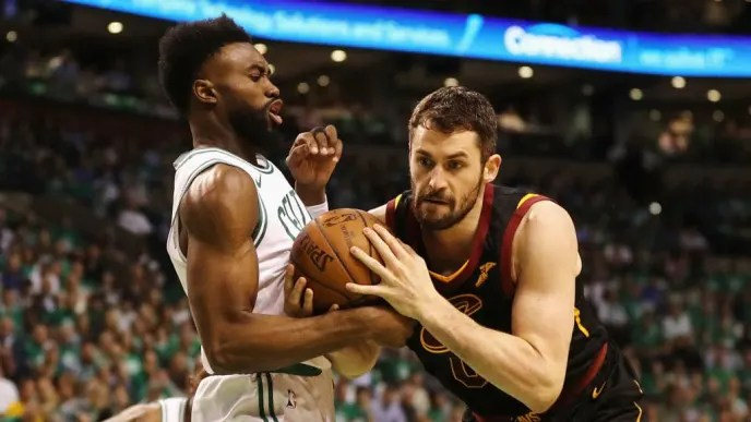 Kevin Love, Jaylen Brown