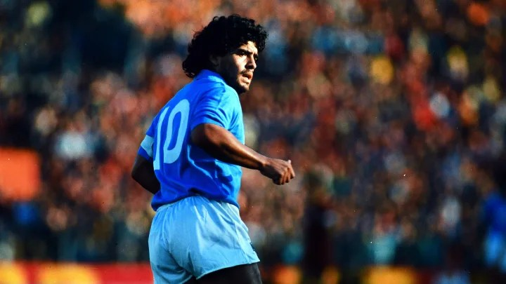 Diego Maradona: A Career in Images