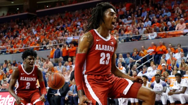 Tennessee vs Alabama prediction and college basketball pick straight up and ATS for today's NCAA game between TENN vs ALA.