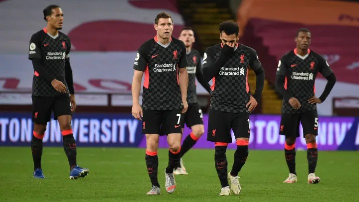 Twitter Reacts as Liverpool Lose 7-2 to Aston Villa in All-Time Premier League Classic