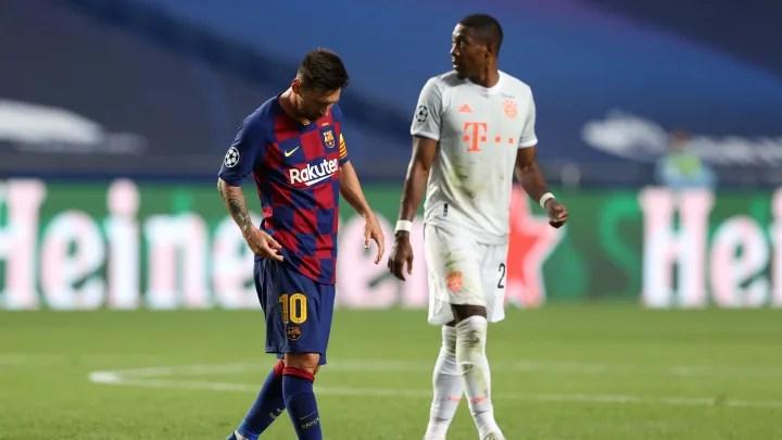 Twitter Reacts as Barcelona Suffer Heaviest Ever European Defeat Against Bayern Munich