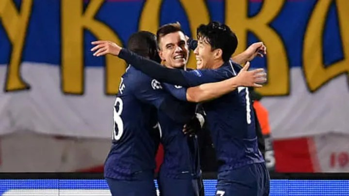 Giovani Lo Celso, Heung-Min Son, Tanguy Ndombele