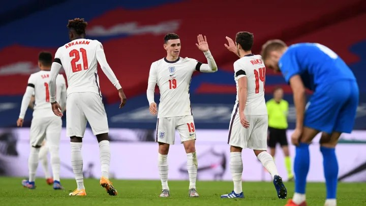 Player Ratings as Phil Foden Bags Maiden England Brace